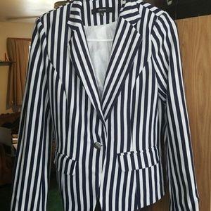 Vertical striped jacket